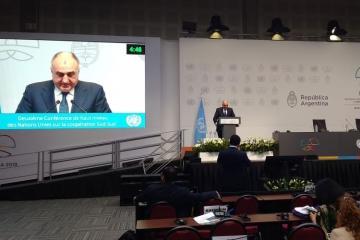 Elmar Məmmədyarov Argentinada Ermənistanın işğalçı siyasətindən danışıb