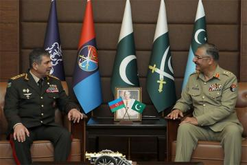 Azerbaijan, Pakistan discuss fight against terrorism
