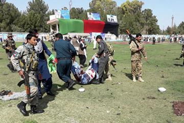«Талибан» взял на себя ответственность за взрывы на стадионе в Афганистане