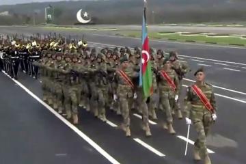 Азербайджанские военнослужащие приняли участие в военном параде в Пакистане  - [color=red]ФОТО[/color]