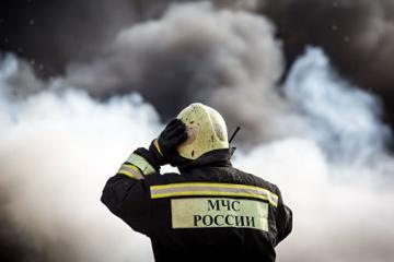 В России четыре человека погибли при пожаре в овощехранилище