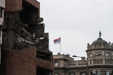 """Глава МИД Германии назвал бомбардировки НАТО Югославии """"правильными"""""""