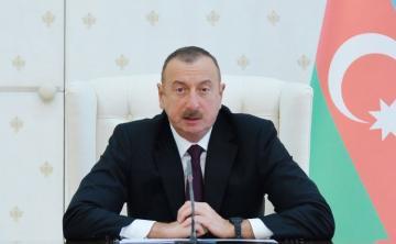 Azerbaijani president expresses condolences to his Iraqi counterpart