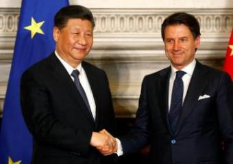 Italy signs deals worth 2.5 billion euros with China