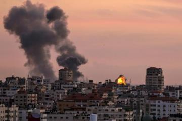 Israel begins striking Hamas targets in Gaza