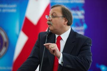 """Gürcüstanın """"Vahid Milli Hərəkat"""" Partiyasına yeni sədr seçilib"""