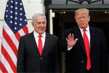ABŞ İsrailin Qolan yüksəklikləri üzərindəki suverenliyini tanıyıb