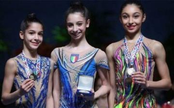 Азербайджанская гимнастка завоевала две медали во Франции