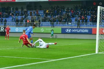 Azərbaycan milli komandası Litva ilə heç-heçə edib