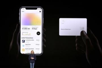 """""""Apple"""" bank kartları buraxır"""