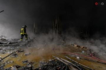 """The fire is extinguished in """"Diglas"""" shopping centre"""