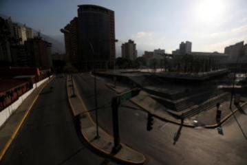 Venezuela blackout leaves streets empty, school and work canceled