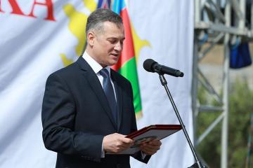 """Arif Babayev """"Hərbi xidmətlərə görə"""" medalı ilə təltif olunub"""