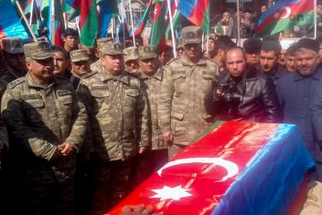 Martyred soldier of Azerbaijani Army was buried