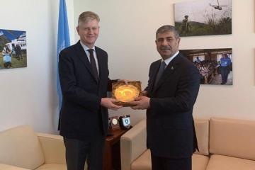 UN highly appreciated the peacekeeping mission of Azerbaijan