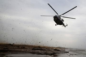 Qazaxıstanda qəzaya uğramış helikopterin bütün heyət üzvü həlak olub