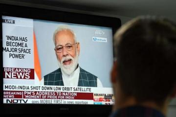 India shoots down satellite in space