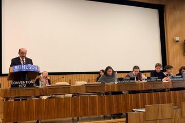 Əbülfəs Qarayev Parisdə UNESCKO-nun iclasında çıxış edib