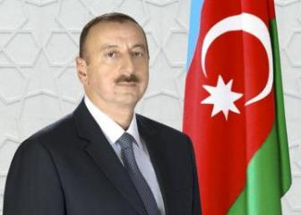 President Ilham Aliyev congratulates the staff of the SSS and FIS