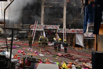 Потерпевшим в результате пожара в ТЦ «Диглас» выплатят компенсацию