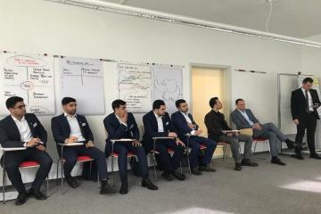 Azərbaycan sahibkarları Almaniyada aqrar istehsalat üzrə təcrübə keçir