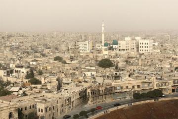 İsrail ordusu Hələb istiqamətində hava zərbələri endirib