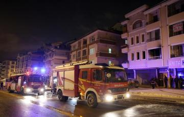 Ankarada yanğında 5 nəfər ölüb