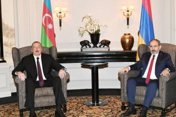 President of Azerbaijan, Prime Minister of Armenia held one-on-one meeting