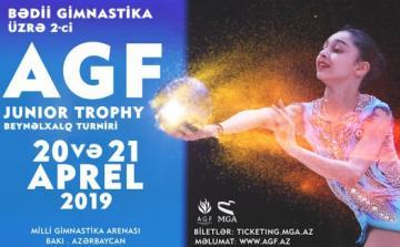 """Bakıda bədii gimnastika üzrə """"AGF Junior Trophy"""" turniri keçiriləcək"""