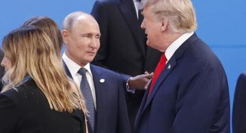 Trump says he will probably be talking with Putin on Venezuela