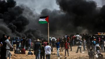 Two Palestinians killed in clashes with Israeli forces on Gaza Border