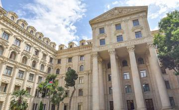 МИД Азербайджана: Заявление Тонояна - очередное признание агрессорской политики этой страны