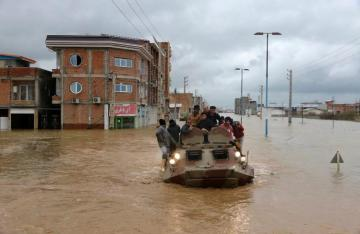 Iran evacuates flood-threatened villages after heavy rains