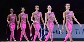 Bədii gimnastika üzrə qrup komandamız Qran-prinin gümüş medalını qazanıb