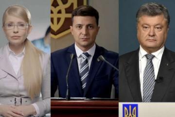 Ukraynada seçkilər: Poroşenko ilə Zelenski ikinci tura keçib -EXİT-POLL