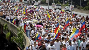 Venezuela's Guaido calls for 'largest march in history'