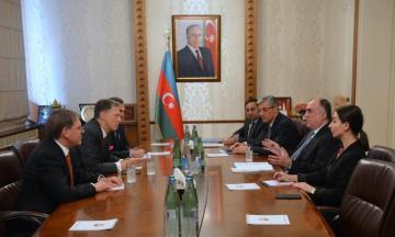 Azerbaijani FM met with the U.S. Deputy Assistant Secretary of State