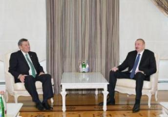 Prezident İlham Əliyev Uruqvayın xarici işlər nazirini qəbul edib