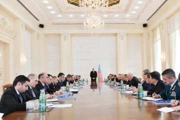 Президент: В этом году государство предоставит семьям шехидов, по меньшей мере, 800 квартир