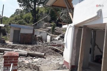 Astarada sel suları yaşayış evinə ciddi ziyan vurub