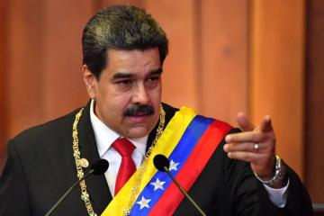 Maduro delivers address to 'Venezuelan people and world'