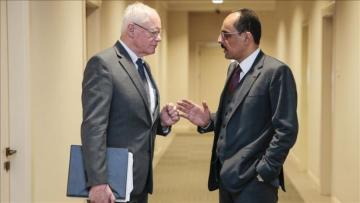 Ибрагим Калын встретился со спецпредставителем США по Сирии