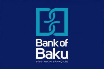 """""""Bank of Baku"""" maliyyə hesabatını açıqlayıb"""