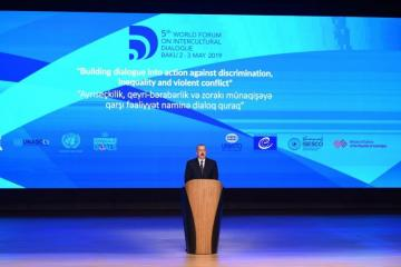 Ilham Aliyev: Baku process today is an initiative which is supported by United Nations