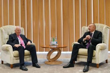 Prezident İlham Əliyev BMT-nin Sivilizasiyalar Alyansı üzrə Ali nümayəndəsini qəbul edib
