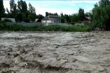 Проливные дожди привели к наводнению в Грузии
