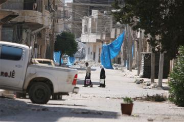 Свыше 1,3 тыс. беженцев покинули лагерь Эр-Рукбан в Сирии