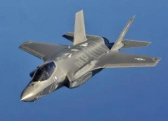 F-35A fighter jets perform first airstrike against Daesh in Iraq