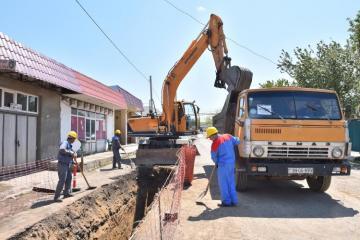 Qazaxda içməli su və kanalizasiya sisteminin yenidən qurulmasına başlanılıb