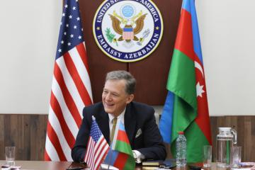"""George Kent: """"It increases not only Azerbaijan's but also entire continent's energy security"""""""